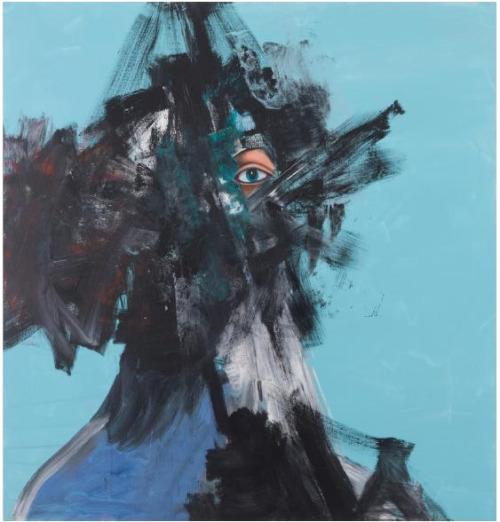 Beginnings (2014 ) by George Condo